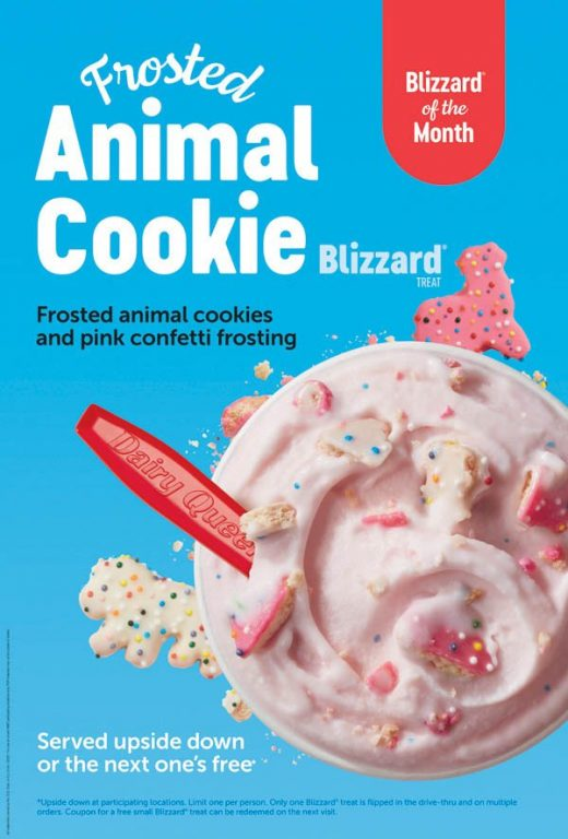 Its Back - Frosted Animal Cookie Blizzard